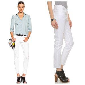Frame Le Garcon Destroyed Slim Boyfriend Jeans